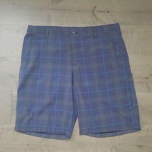 Lululemon | Mens plaid shorts 40
